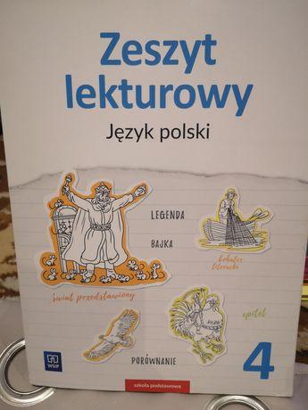 Zeszyt lekturowy język polski