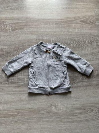 Bluza Coccodrillo 74 rozpinana