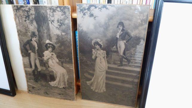 Grafiki, reprinty ponad stuletnie. Blande Sparks 1902. Zabór Pruski.