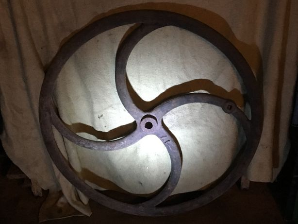 koło od sieczkarni