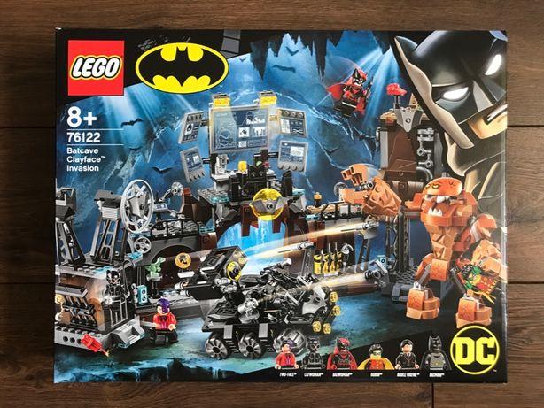 LEGO Super Heroes 76122 Atak Clayface'a na Jaskinię Batmana - NOWE