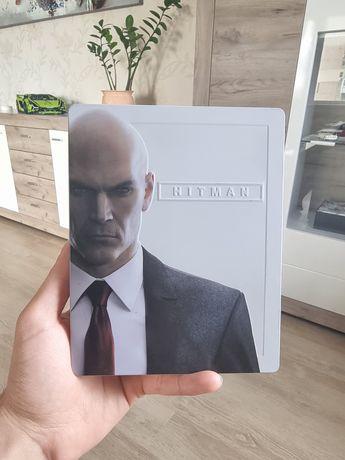 Hitman 1 steelbook PS4 RUS Хитман Хитмен Хитмэн стилбук ПС4