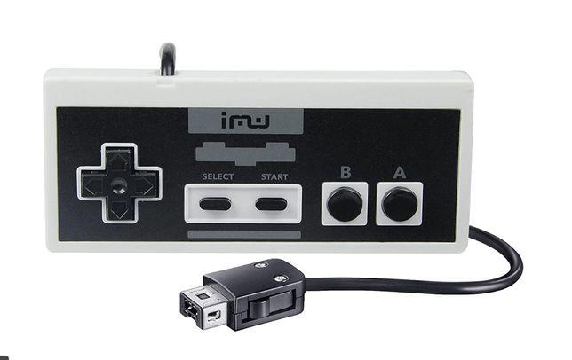 Przewodowy kontroler gier iMW dla NES Classic Edition
