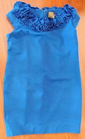 Sukienka chabrowa Taylor w rozmiarze 14.