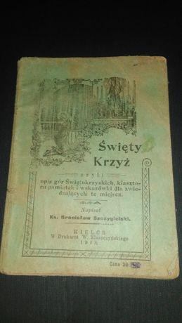 Góry Świętokrzyskie informator 1908 r