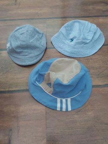 Czapki kapelusze H&M Adidas rozm. 86