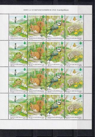 znaczki pocztowe czyste Węgry 6
