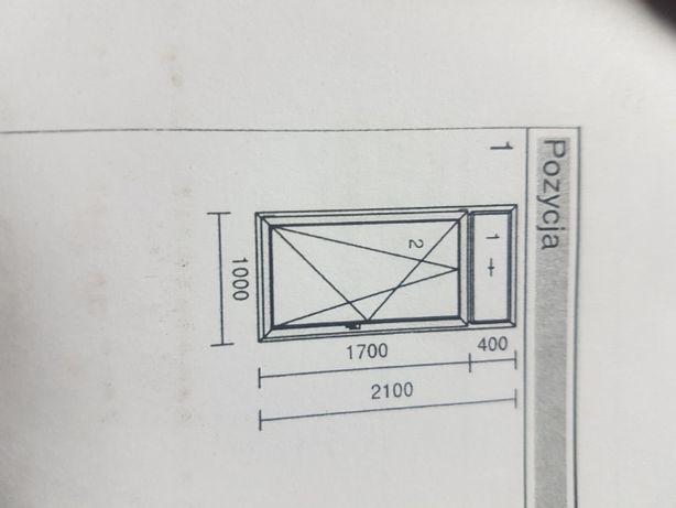 Okna pcv białe używane