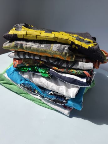 Lote de 11 camisolas e tshirt para menino