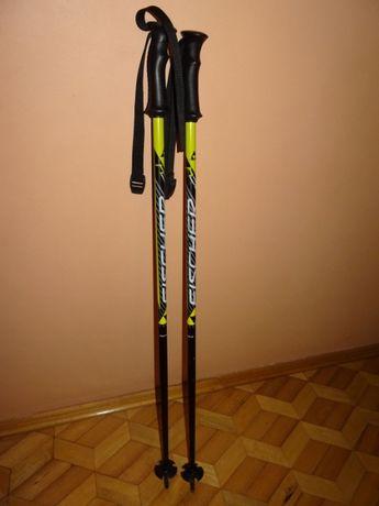 Kijki narciarskie dziecięce Fischer 90 cm aluminiowe profesjonalne