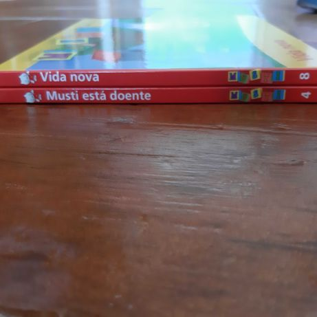 4 Livros Heidi + Musti