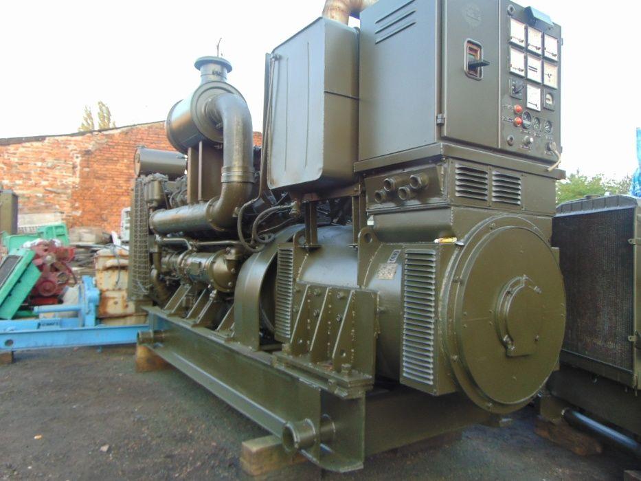 Agregat Prądotwórczy 200 kw 220 250 kw 300 kva Henschel 66 godz pracy Zabrze - image 1