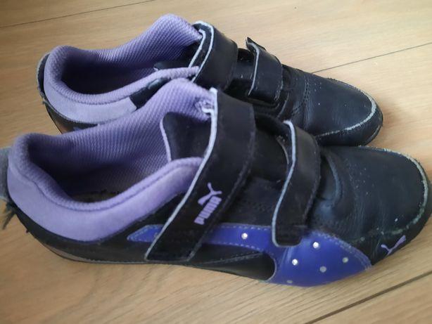 Czarne buty sportowe PUMA r.35