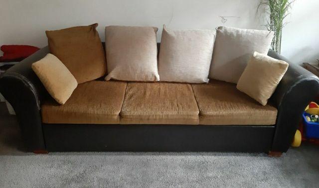 Kanapa sofa rozkladana do spania 2 - 3 osobowa