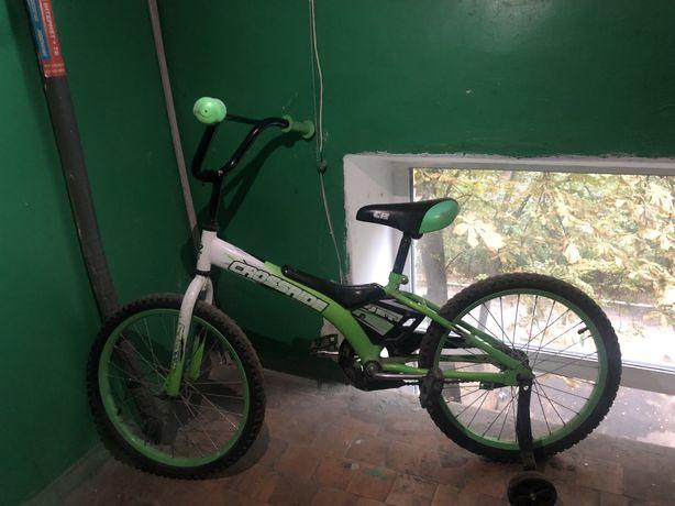 Велосипед crossride CR green