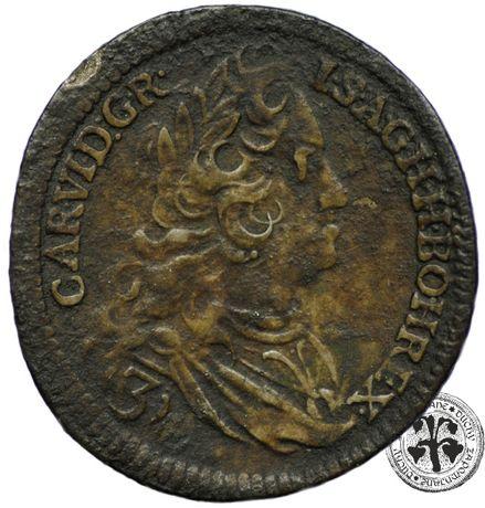 Austria Karol VI 3 krajcary 1729 r. Praga