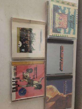 Vendo ou troco conjunto de cds áudio novos