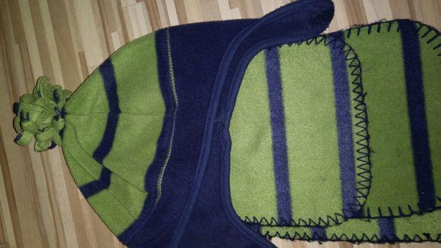 Komplet czapka i szalik dla 2-3 latka