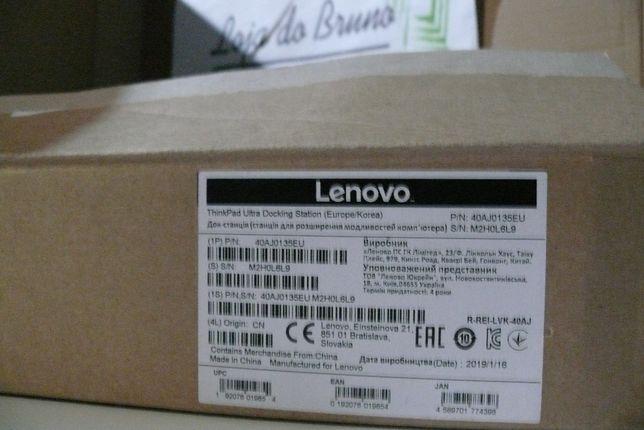 Lenovo ThinkPad Ultra Docking Station - 40AJ0135EU - Novo