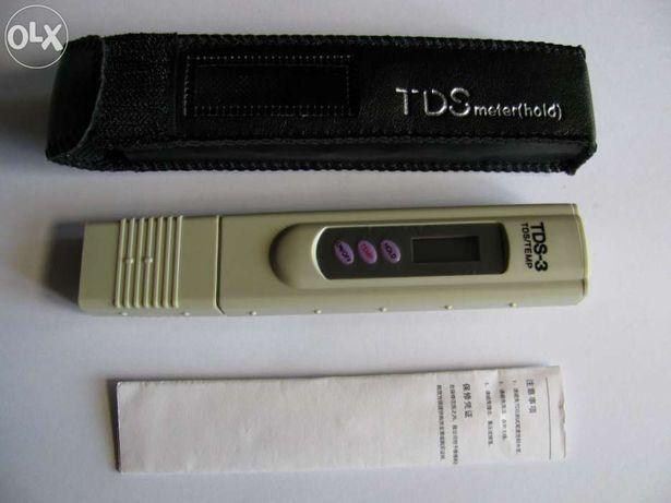 Medidor TDS/Temperatura (uso em plantas carnivoras/aquários)