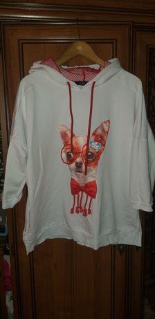Bluzeczka z kapturem