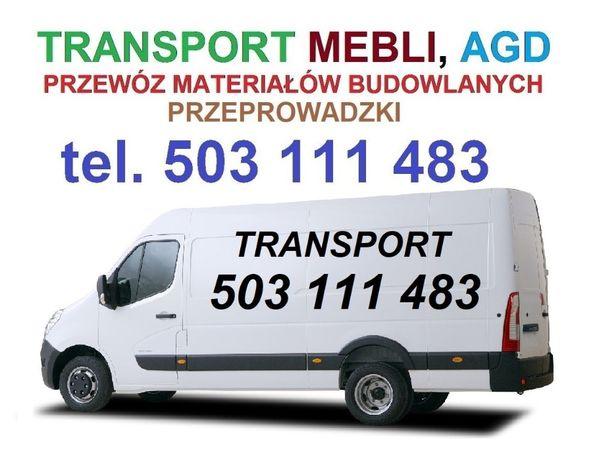 Transport mebli przeprowadzki przewóz rzeczy AGD tanio bus Białystok