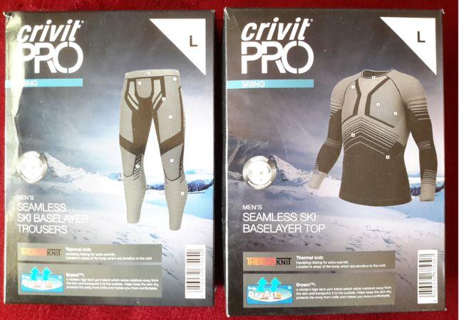 Термобелье мужское для активного отдыха Crivit Pro Ski