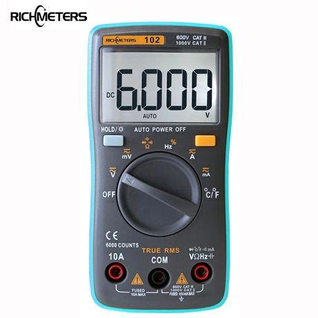 Цифровой тестер мультиметр RichMeters RM 2