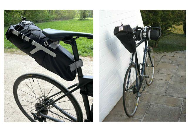 Sakwa torba rowerowa pod siodełko  8 litrów Dry bag wodoodporna