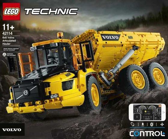 Super zestaw! LEGO 42114 Technic, Volvo 6x6, Sterowanie smartfonem!