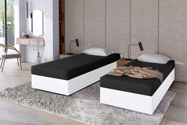 Jednoosobowe łóżko młodzieżowe 80/90/100Tapczan +pojemnik +materac HIT