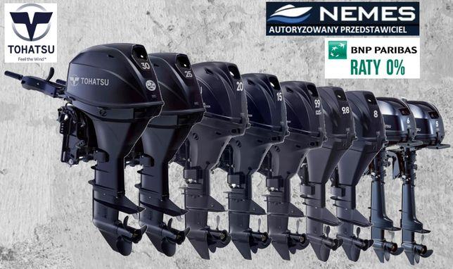 SILNIK ZABURTOWY TOHATSU wszystkie modele, autoryzowany dealer Nemes