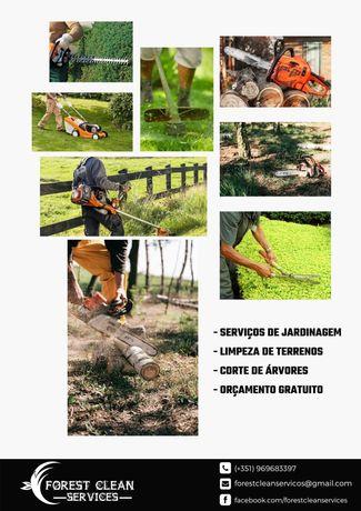 Fazemos limpeza de terrenos