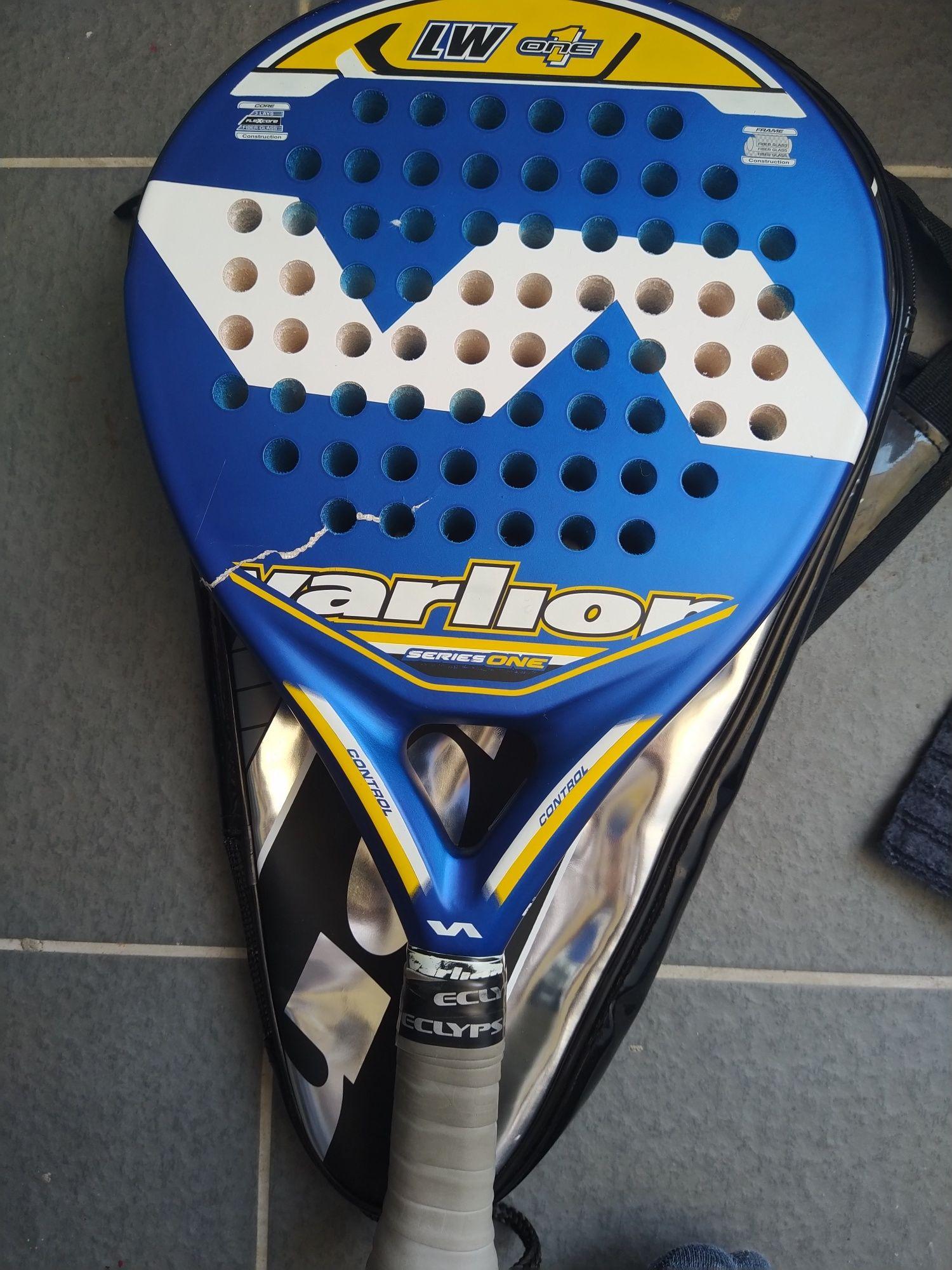 Raquete de padel Varlion LW One com bolsa