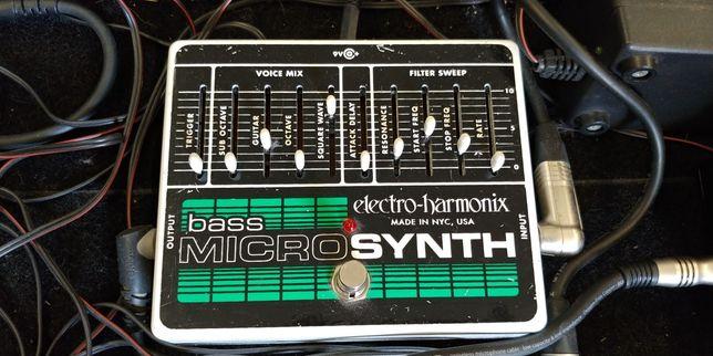 EHX Bass MICROSYNTH syntezator basowy made in USA