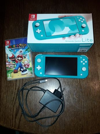 Nintendo switch lite + gra
