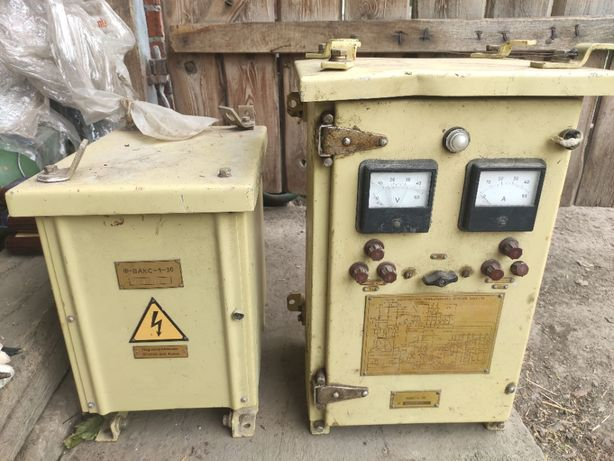 Агрегат выпрямительный ВАКС 1-30 с фильтром питания. Новый