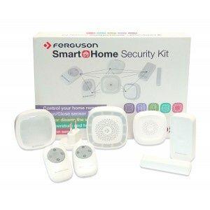 Inteligentny Dom- Bezprzewodowy Zestaw Czujników Ferguson Security Kit