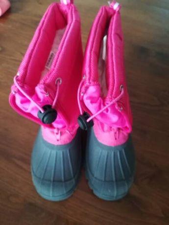 Botas de menina.