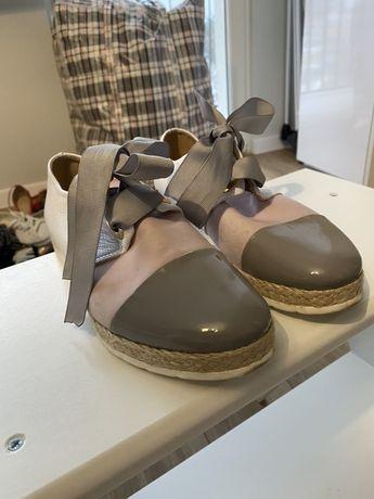 Damskie buty skorzane 36