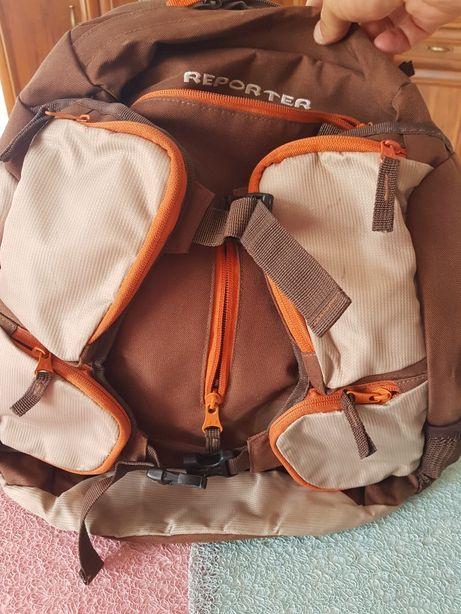 Plecak reporter jak nowy polecam