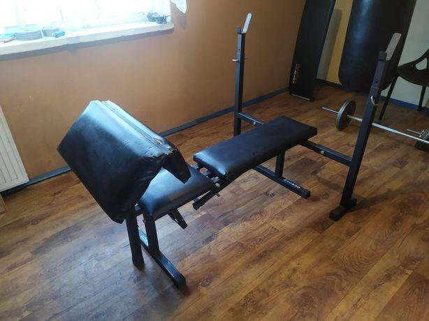 Ławka do ćwiczeń, siłownia
