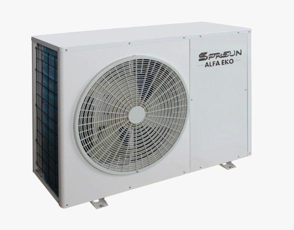 """Pompa ciepła inwerter A++ Sprsun Alfa Eko 9,5 kW """"Czyste powietrze"""""""