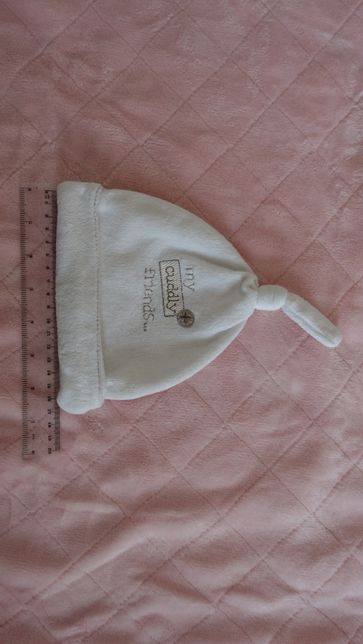 czapeczka dla niemowlaka ciepła 32 cm