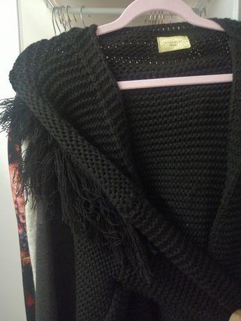 Sweter narzuta nowy piękny i ciepły XL