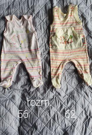 Spioszki niemowlęce 56 62