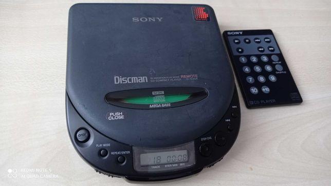 Discman Sony D-113CR Zabytkowy Retro Vintage Made In Japan