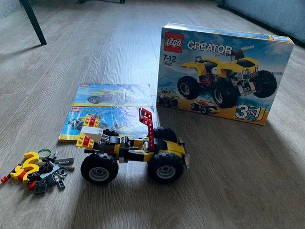 Lego 31022 турбо квадроцикл машина Лего оригинал с коробкой