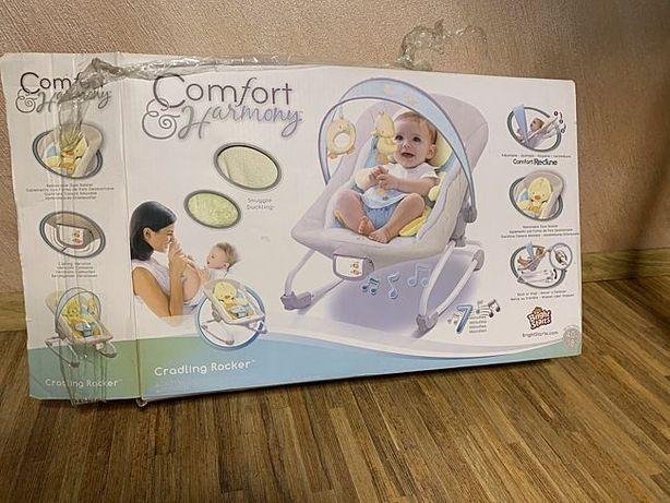 Кресло-качалка Comfort & Harmony Bright Starts Уточка
