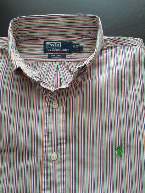 Koszula męska z długim rękawem Ralph Lauren rozmiar L
